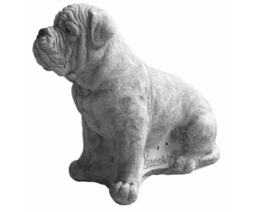 Bordeaux Dog, klein zittend