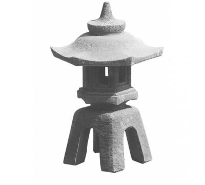 Japanse lamp vierpoot groot
