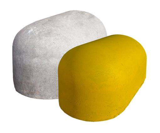 Jumboblok Geel 45 x 90 x 48 cm