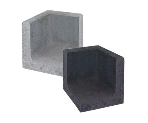 L hoek element 50 x 50 x 80 cm
