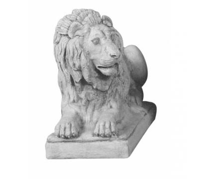 Leeuw liggend groot links