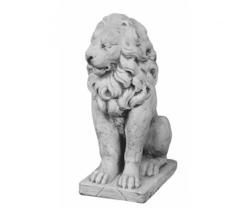 Leeuw zittend rechts h.55cm