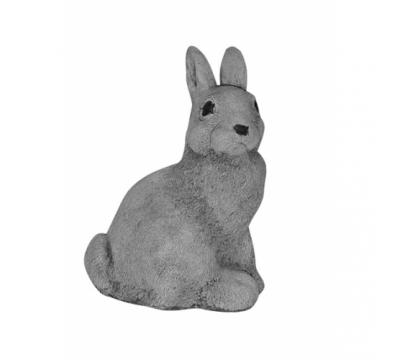 Moeder konijn zittend