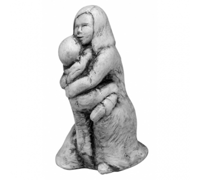 Moeder met kind troostend