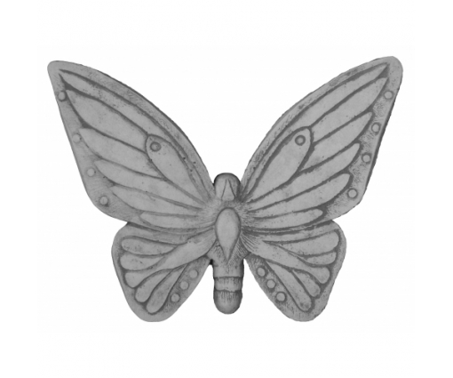 Muurhanger vlinder groot