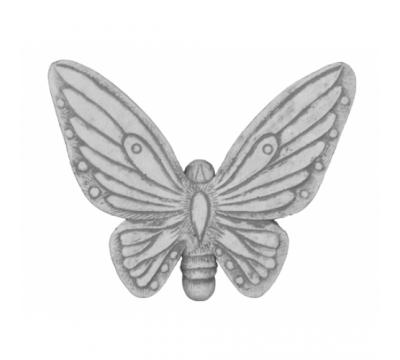 Muurhanger vlinder klein
