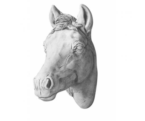 Paardenhoofd klein wandhanger