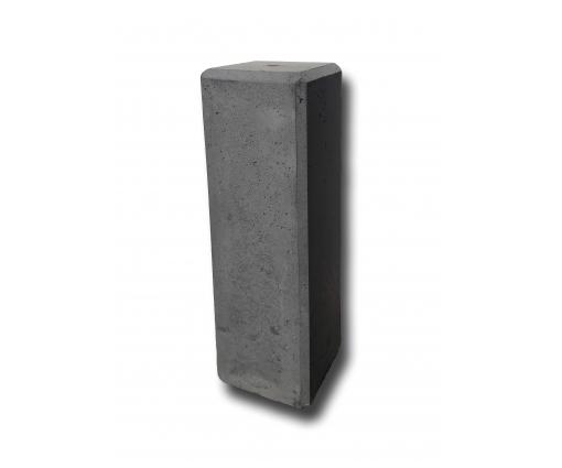 Betonnen sokkel 50cm hoog - 15x15cm - antraciet