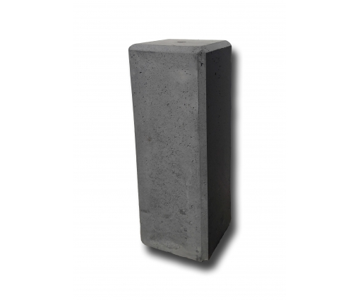 Betonnen sokkel 50cm hoog - 18x18cm - antraciet