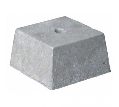 Betonpoer 20 cm hoog vv gat