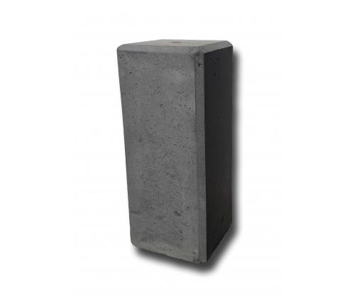 Betonnen sokkel 50cm hoog - 20x20cm - antraciet
