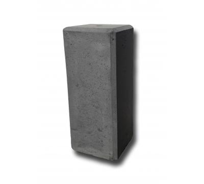 Betonpoer 20x20x50 cm antraciet