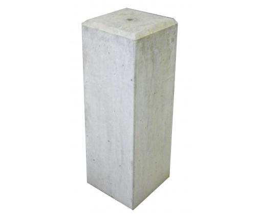Betonpoer 17x17x50 cm met vellingkant