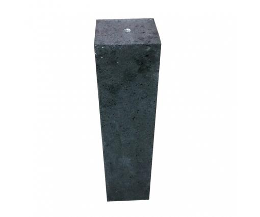 Betonnen sokkel 60cm hoog - 20x20cm - antraciet