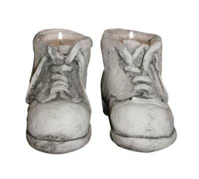 Set schoentjes voor waxinelichtje