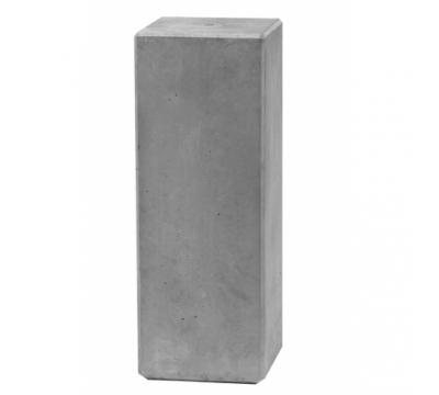 Sokkel grijs beton h.60cm S-60
