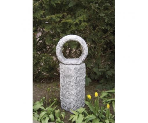 Sokkel met cirkel h.88cm