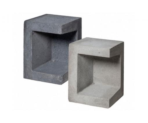 U hoek element 40x50x40 cm