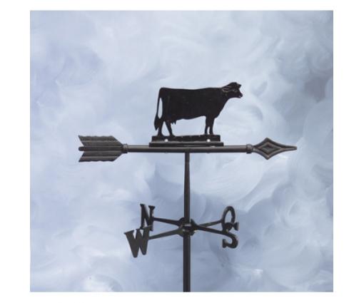 Windwijzer koe aluminium, pijl 45cm